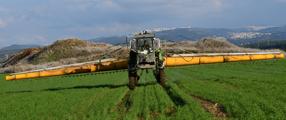מיכון לריסוס, דישון והגנת הצומח