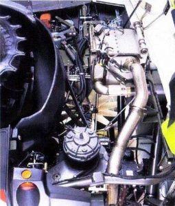 איור 1: מנוע מתקן 4i עם מערכת AdBlue